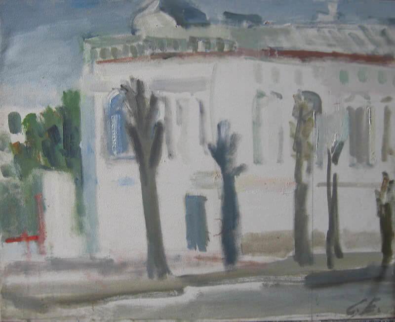 Белый дом в Костроме.