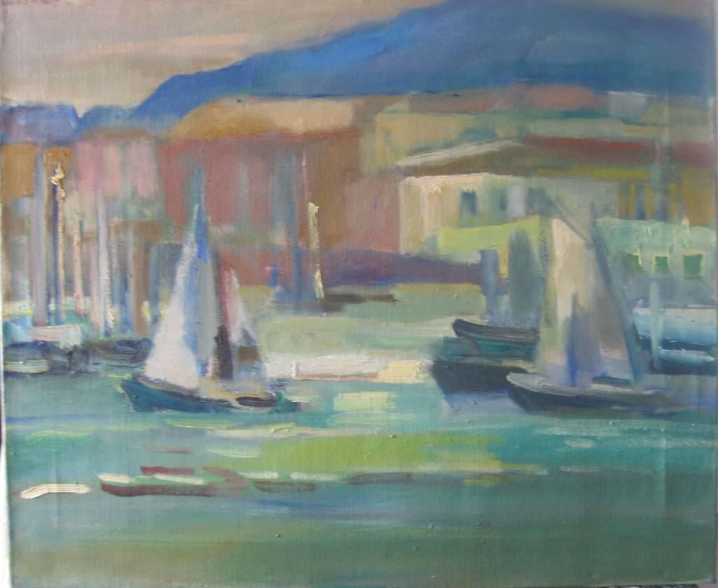 Вечер в Старом порту