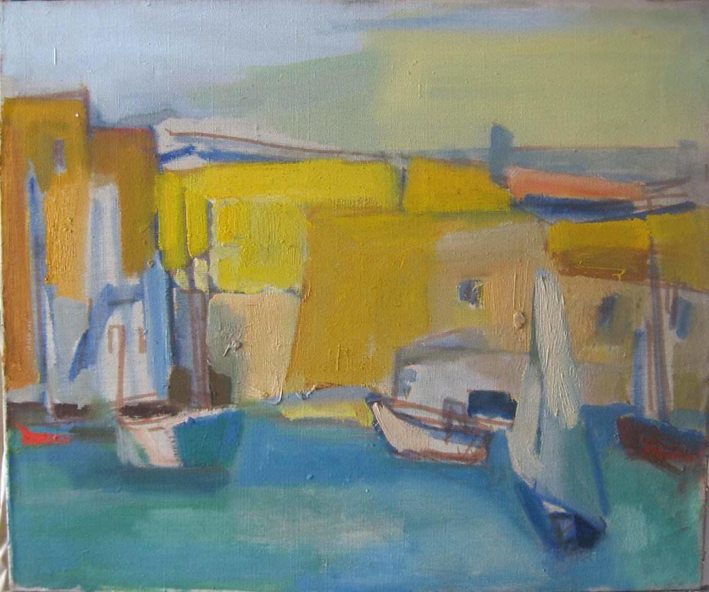 Июль в Марселе. Старый порт.