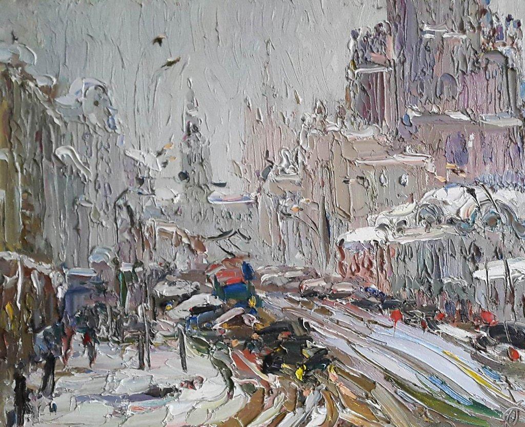 Москва после метели.
